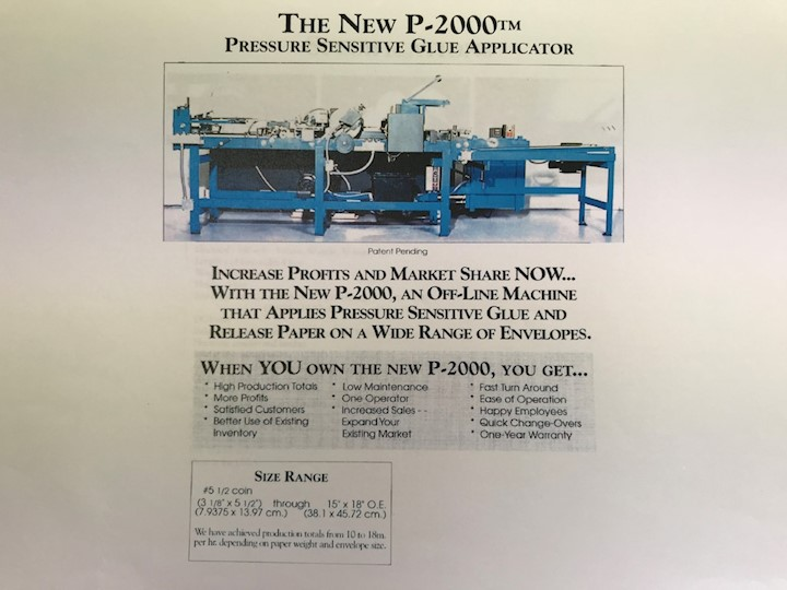 PEEL & SEAL  P-2000 (Off-Line Silicon Applicator)